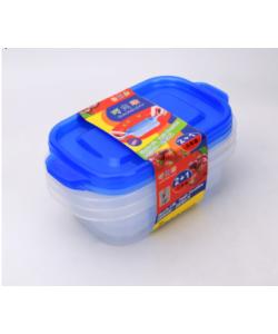Three-piece fresh-keeping Box 保鲜盒塑料收纳盒 (3 Pieces)