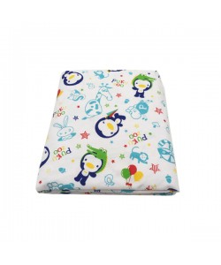 PUKU Baby Cot Fitted Crib Sheet (52x28x4)