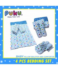 PUKU Bedding Set 4Pcs